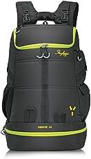 Skybags Weekender 49 Ltrs Black Hiking Backpack (TROP45BLK)