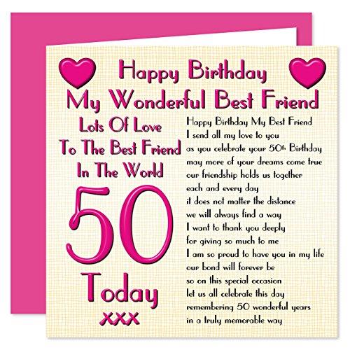 Best Friend Birthday Gifts Amazon Co Uk: Best Friend Card: Amazon.co.uk