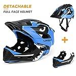 Lixada Lixada Kids Detachable Full Face Helmet Children Sports Safety Helmet for Cycling Skateboarding Roller Skating