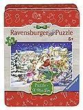 Ravensburger Puzzle 07548 Weihnachtszauber, 80 Teile in der Metalldose