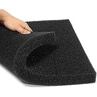 Esponja filtro para acuario, de Naisicatar, de espuma de algodón bioquímico, 50 x 50 x 2,5 cm