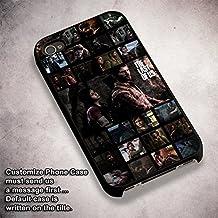 Ellie Joel The Last Of Us para Funda Iphone 6 and Funda Iphone 6s Fall [blanco Hardplastic Fall] N5X7HI