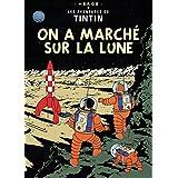 2010 Herge Les Aventures de Tintin: en una de las marcas de cartel Sur La Lune
