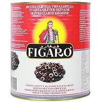 Figaro Black Sliced Olives Bulk Pack, 3 kg [Horeca Pack]