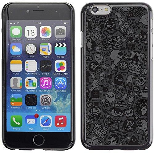 Graphic4You COLOR TRIANGLES Muster Harte Hülle Case Tasche Schutzhülle für Apple iPhone 6 Plus / 6S Plus Design #15