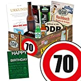 Männer Geschenkbox | Männer Paket | Geburtstag 70 | Geschenk Box Papa