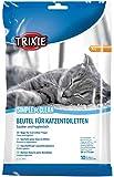 Trixie- Sacchi per lettiere per gatti, 56 x 71 cm, 10 pezzi