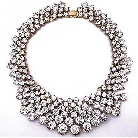 TWOPAGES-Collana a girocollo con perline per gioielli,