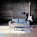 Fototapete E-Gitarre Vlies Tapete Wandtapete - Tapete - Moderne Wanddeko - Wandbilder - Fotogeschenke - Wand Dekoration wandmotiv24 Größe: S 200 x 140cm - 4 Teile - Vlies