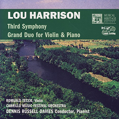 Lou Harrison: Third Symphony/Grand Duo For Violin & Piano Russell Duo