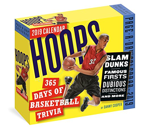 Hoops: 365 Days of Basketball Trivia! Page-A-Day Calendar 20