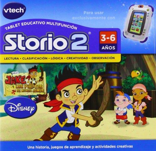 VTech - Juego para tablet educativo, Storio, Jake y los piratas (3480-231622)