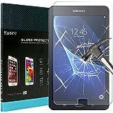 Samsung Galaxy Tab A 10.1 Protection d'écran, Rusee Samsung Galaxy Tab A 10.1 Inch (SM-T580 / SM-T581 / SM-T585) Protecteur d'écran Film en verre trempé Film Vitre [Haute Définition] [Sans bulle] [9H Dureté] Pour Samsung Galaxy Tab A 10.1
