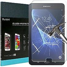 Samsung Galaxy Tab A 10.1 Protector de Pantalla, Rusee Samsung Galaxy Tab A 10.1 Cristal Templado (SM-T580 / SM-T581 / SM-T585) Vidrio Templado[9H Dureza] [Alta Definición] [Sin Burbujas] [HD ultra Delgado]