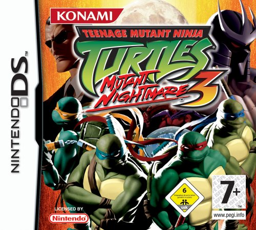 Teenage Mutant Ninja Turtles - Mutant - Ds Spiele Für Ninja