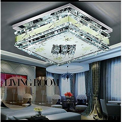 NHD-50*50cm 24W+ remote-controlled modern Crystal LED ceiling