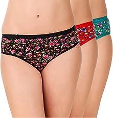 Optimystic Floral Printed Panties