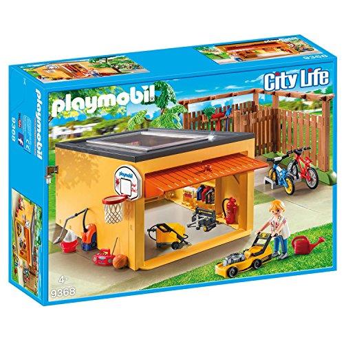 PLAYMOBIL 9368 Garage mit Fahrradstellplatz, Exklusivset