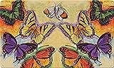 Toland Home Garden Flug der Schmetterlinge 18x 30Deko usa-produced Standard Indoor-Outdoor Design Matte 800055