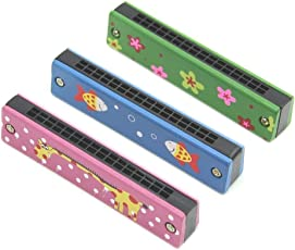 SET of 2 | Cute 32 Holes Children's Mouth Organ | Kids Toy | Beginners Harmonica | by DAISYLIFE