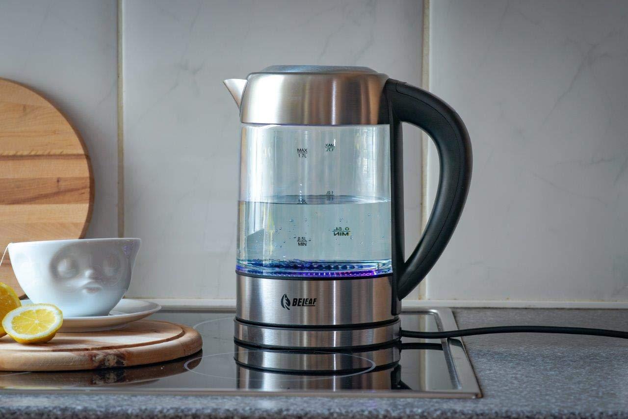 Babynahrung-Wasserkocher-mit-Temperatureinstellung-BeLeaf-17-L-aus-Edelstahl-BPA-free