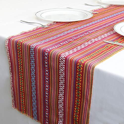 YZEO Tischläufer für Mexikanische Hochzeit, 35,6 x 274,3 cm, Sonstige, 2, 14 * 108