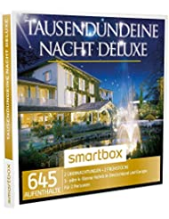 SMARTBOX - Geschenkbox - TAUSENDUNDEINE NACHT DELUXE - 645 Aufenthalte: 2 Übernachtungen mit Frühstück in 3* oder 4* Sterne Hotels