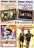 Max and Paddy Collection : Max And Paddy's Road To Nowhere + Max And Paddy: The Power Of Two - Fitness DVD + Peter Kay's Phoenix Nights All 12 Complete Episdoes First and Second Series Collection: (2 Discs) Season 1 + 2 + Loads of Extras by Peter Kay