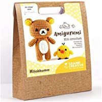 Kit Crochet Amigurumi - Rilakkuma