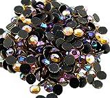 Perlin - Hotfix Strasssteine, 2880stk, Gold AB, Topas AB 5mm SS20 AAA Qualität, 20 Gross, zum Aufbügeln, Hotglue, Glitzersteine Rhinestone Großhandel Glass Strass Perlen 479 x2