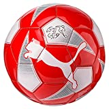 Puma World Cup Licensed Fan Mini Ball, Red/White/Swiss, One Size