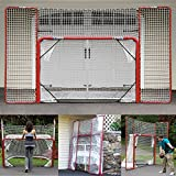 EZGoal Hockey Folding Pro Goal with Backstop - Best Reviews Guide