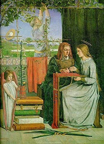 The Museum Outlet–L'enfance de la Vierge Marie, 1849–Poster Print Online Buy (101,6x 127cm)