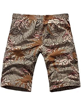WDDGPZ Pantalones Cortos De Playa/Impreso Diseñador Verano Playa Playa Hombres Mens Shorts Shorts Casual Junta...