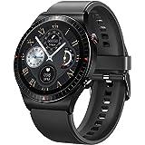 GaWear Relojes Inteligente Hombre,Smartwatch con Llamadas Pulsómetro Presión Arterial, Monito de Sueño,Podómetro Pulsera Relo