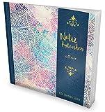 GOCKLER® Notiz-Kalender: Universaler Tagebuch-Kalender || 1 Zeile pro Tag + Notizseiten + Glänzendes Softcover || Ideal für Erinnerungen, To Do's & Termine || DesignArt.: Edle Ornamente