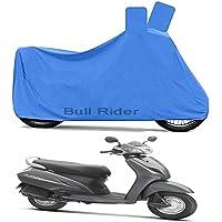 Bull Rider Two Wheeler Cover for Honda Activa 3G (Blue)