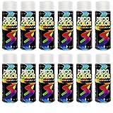 12er Sparpack DC Lackspray glänzend 400ml nach RAL freie Farbauswahl