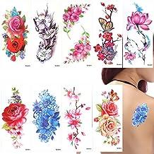Amazon Fr Tatouage Fleur De Cerisier