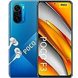 "POCO F3 5G - Smartphone 6+128GB, 6,67"" 120 Hz AMOLED DotDisplay, Snapdragon 870, cámara triple de 48MP, 4520 mAh, Azul Océano"