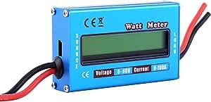 60v 100a Digitale Lcd Leistungsmesser Watt Meter Power Analyzer Hochpräzisions Leistungsanalysator Baumarkt