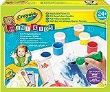 Crayola - Mini Kids - Mon 1er kit de peinture - Coloriage pour enfant et tout petit - 256408.006