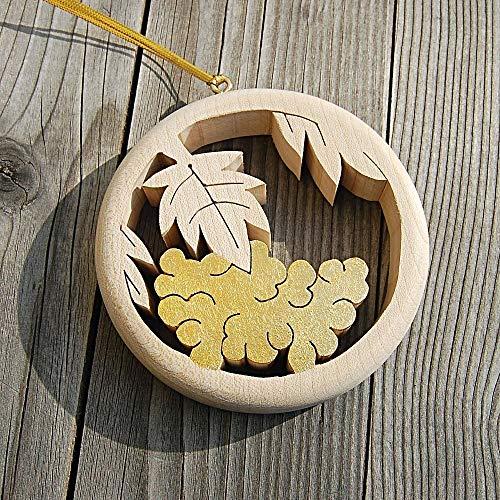 Holz Traube Dekoration