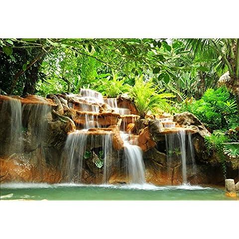 Adesivi da parete, motivo: cascate tropicali,