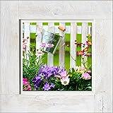 Pro-Art de imágenes palé hrg769a pared de Vintage de Wood Lovely garden II