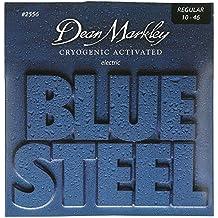 Dean Markley Blue Steel Electric REG 2556 - Juego de cuerdas para guitarra eléctrica de acero, .010 -