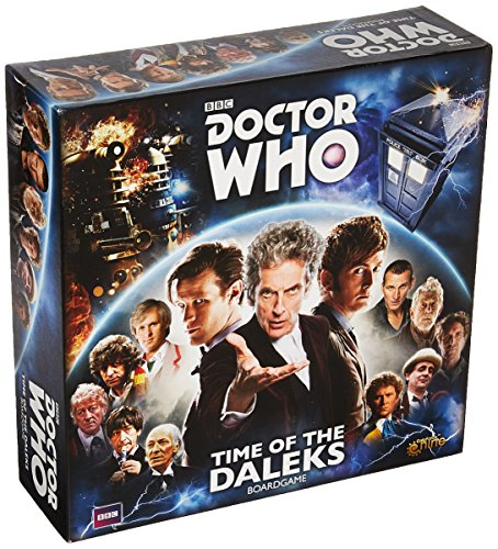 Gale Force Nine GFNDW001 Doctor Who Time of The Daleks Boardgame, Mixed Colours