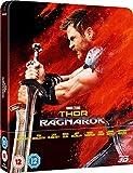 Thor Ragnarok Steelbook (thor 3 steelbook) 3D Including 2D Blu-ray UK Exclusive Limited Edition Steelbook Blu-ray Region Free