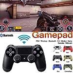 Manette sans fil pour PS4, pour manette de jeu Playstation 4, manette de jeu Bluetooth DualShock Manette de commande...
