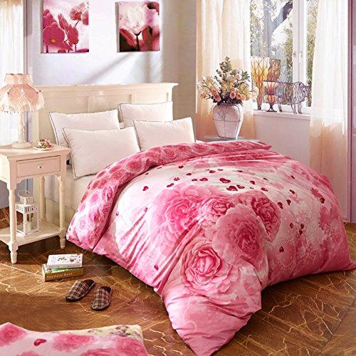 Baumwolle Decke ein Stück Baumwoll Cap Denim quilts Twin-Bettbezug-F 220*240cm(87x94inch) (Twin-denim-bettwäsche)